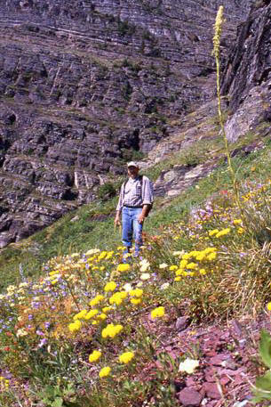 Stephen Craven at Glacier National Park
