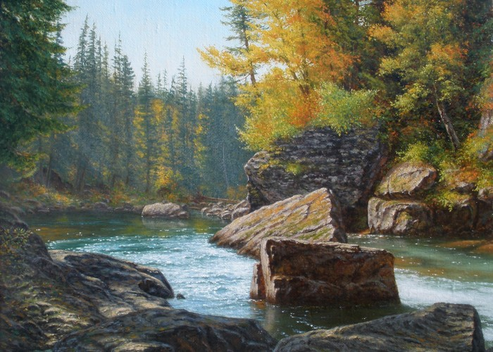 Stephen Craven - Autumn Brook, GNP